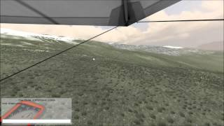 Paraglider and Hangglider Multiplayer 3D Simulator - Paraflysim
