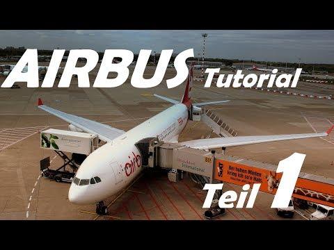 Tutorial (Deutsch) - XPlane 11 AIRBUS A330 (JarDesign) FMC, Autopilot und Flugplan TEIL 1