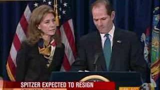 Eliot Spitzer Announces His Resignation PDTV Source