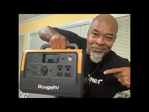 BougeRv 716 solar generator GIVEAWAY Questions!!! PART 1