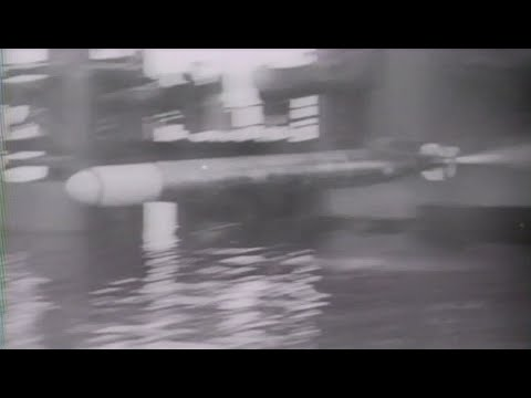 US Navy Tests Torpedoes WW2 Newsreel Footage
