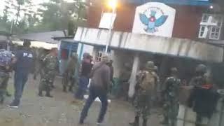 Kantor Papua Merdeka di Timika Disergap, 1 Orang Ditembak Polisi dan 7 Ditangkap