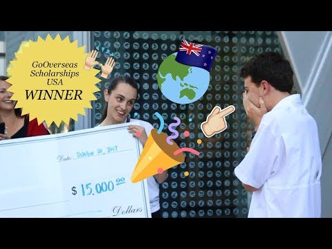 Go Overseas New Zealand Scholarship WINNER 2017 USA- Joshua