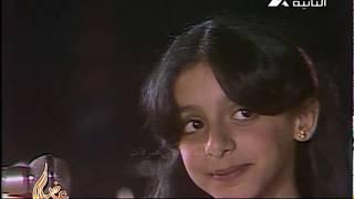 بنتى حبيبتى - انغام وهى طفلة ووالدها الموسيقار محمد على سليمان - تصوير نادر