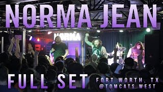 NORMA JEAN - Full Set {HD} LIVE 2016 @ Tomcats West