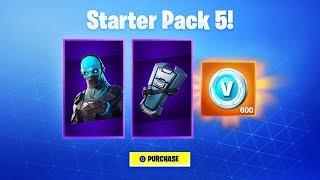 *NEW* STARTER PACK 5 in Fortnite!