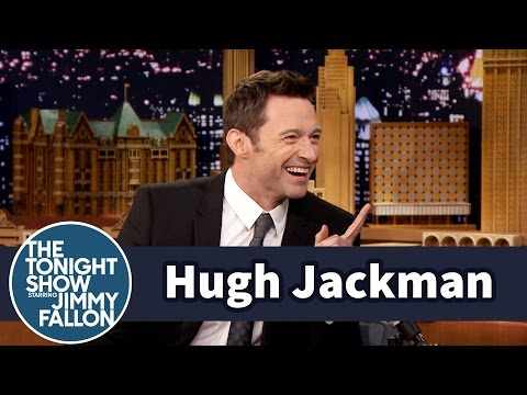 Hugh Jackman Shows Jimmy How to Really Eat Vegemite