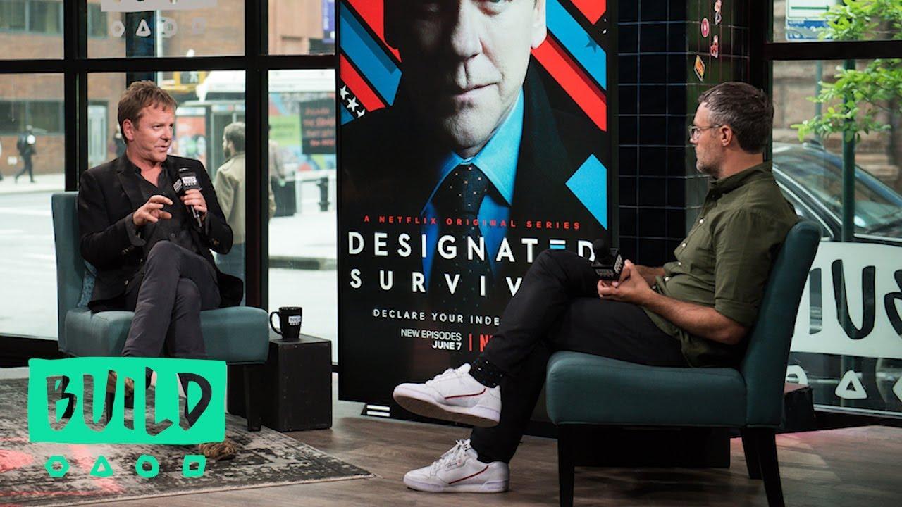 "Download Kiefer Sutherland Discusses The Third Season Of ""Designated Survivor"""