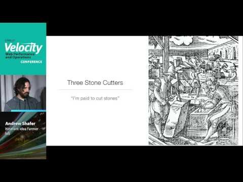 there is no talent shortage -- velocity NYC 2013 -- andrew clay shafer