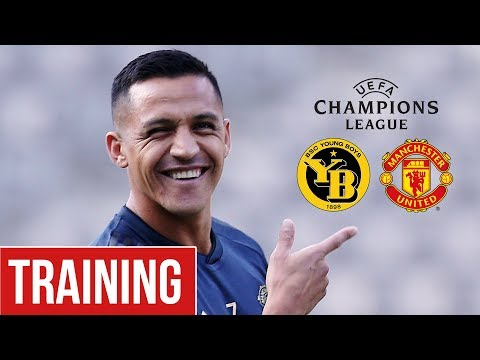 Manchester United train ahead of BSC Young Boys clash! | Man Utd Training | UCL 2018/19