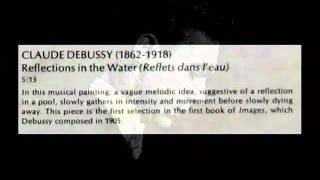 Debussy / John Browning, 1968: Reflets dans l