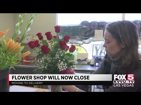 Las Vegas flower shop owner says business is 'essential'