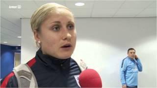 England 9-0 Montenegro - Steph Houghton Interview