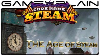 Code Name: STEAM - Title Screen & Opening Cutscene