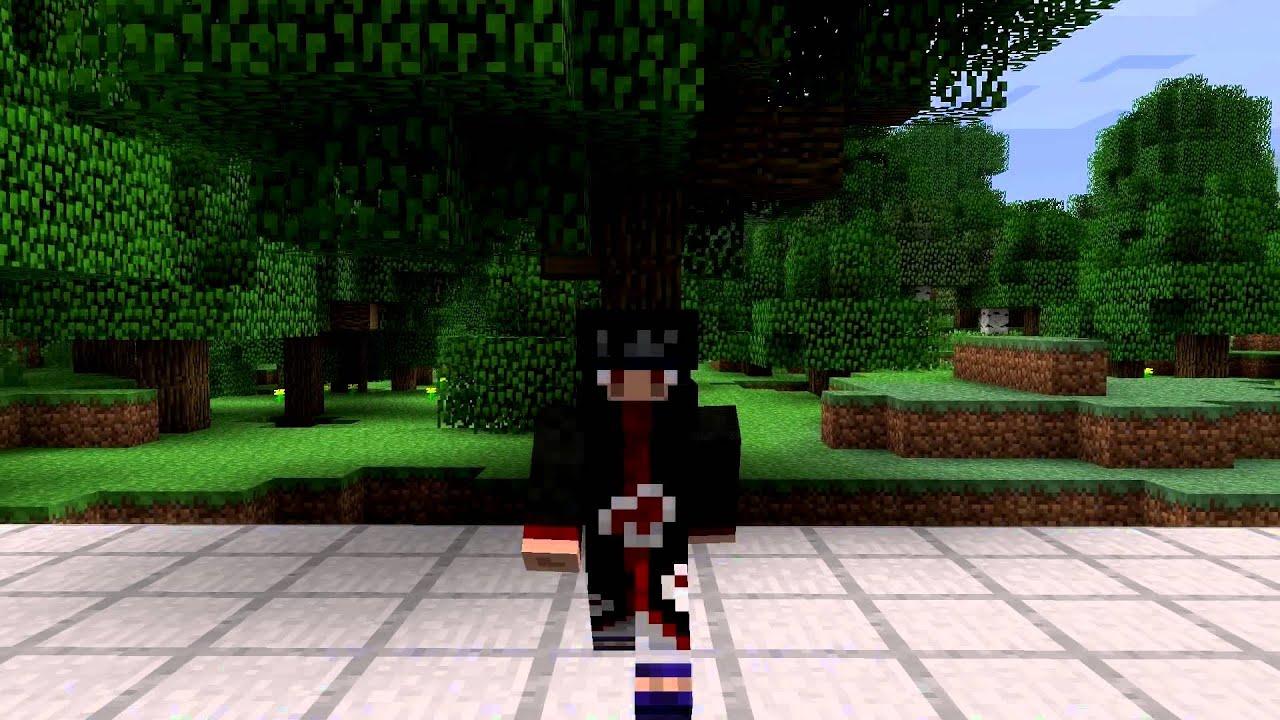 Itachi Uchiha Minecraft Skin Spotlight - YouTube