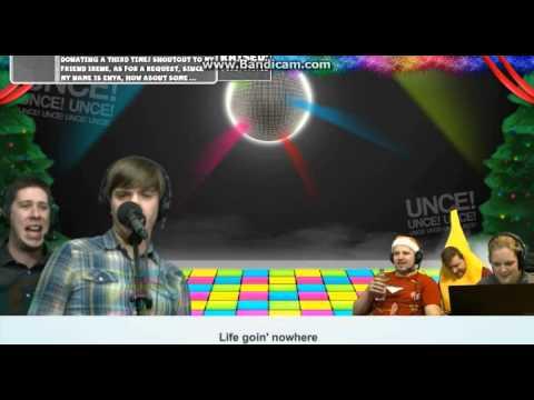 Trott and Ross - Staying Alive (Yogscast Karaoke Night Christmas Livestreams 2014)