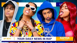 If Rappers Were News Reporters
