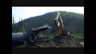 Kyle & Kate Yukon Gold Mining 2013