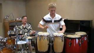 Conga and Drum Solo by Paul and Christopher W. French