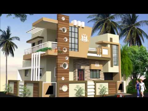 Double Story House Designs Indian Style