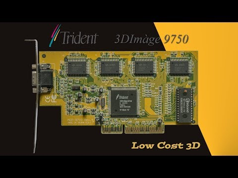 Worst Game Graphics Cards - Trident 3DImàge 9750