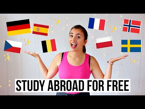 Best countries to study abroad for free ✈️🌎💸Budget-friendly study abroad destinations 🌈💰✨
