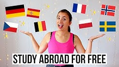 Best countries to study abroad for free ✈️??Budget-friendly study abroad destinations ??✨