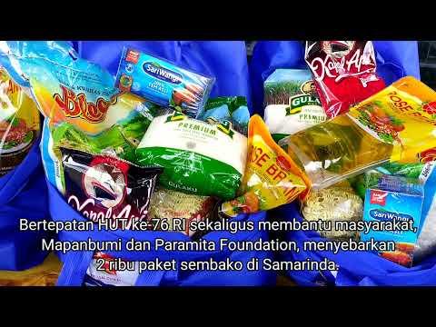 Bantu Paramita, Polres Sebar 2 Ribu Paket Sembako