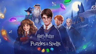 HARRY POTTER PUZZLES & SPELLS - Gameplay Walkthrough Part 1 iOS / Android - Level 1 - 14