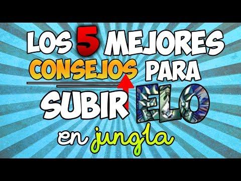 Top 5 Mejores Junglas: Parche 8.21 (League of Legends)