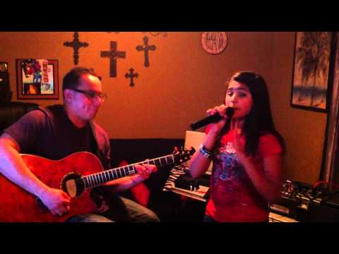 "Victoria Justice ""You Are the Reason"" acoustic cover by Kaylise Renay and Fabian"