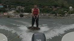 Water surfing in tehri