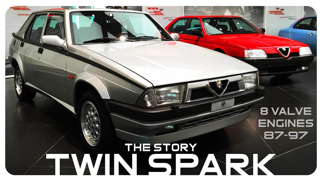 The Story Of The Alfa Romeo Twin Spark Engines