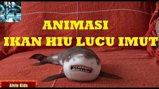 Funny Cartoon Baby Shark ~ Animasi Kartun Ikan HIU 3D ~ Unik Lucu Imut Gemesin