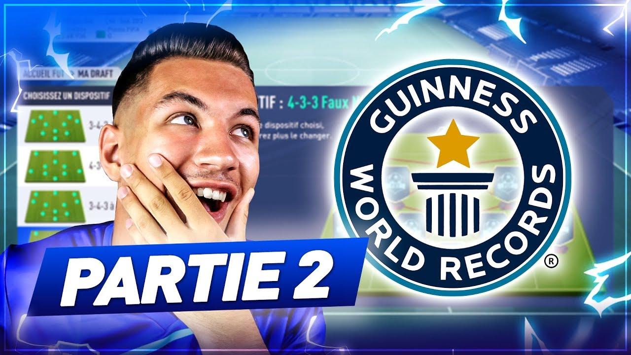 PARTIE 2 - DRAFT LA PLUS INCROYABLE DE L'HISTOIRE DE FIFA ! [4321]