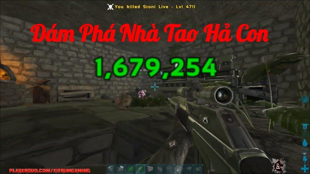 ARK:Survival Evolved #15 – Bộ Phim Hành Động Mang Tên Đánh Du Kích Việt Nam, Cười Mệt Xỉu =))))