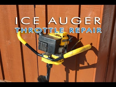 HOW-TO - Ice Auger Throttle Repair