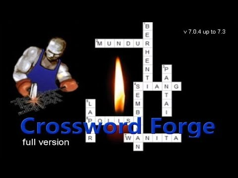 Cara Gunakan Crossword Forge 7.0.4 Up To 7.3 Full Serial Number