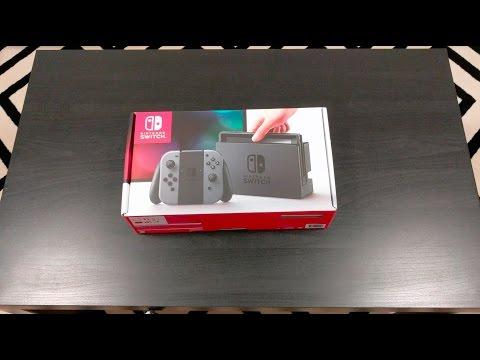 Australian Nintendo Switch Unboxing!