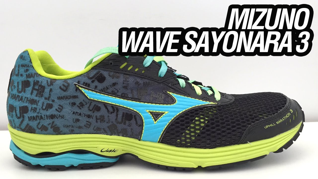 mizuno wave sayonara