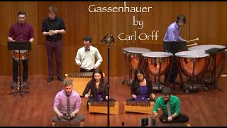 Michael Barranco Senior Recital 6. Gassenhauer - Carl Orff