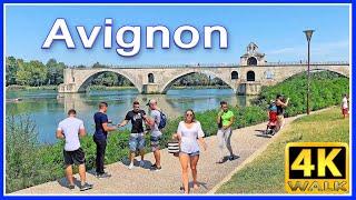 【4K】WALK Avignon PROVENCE FRANCE 4k documentary virtual walk
