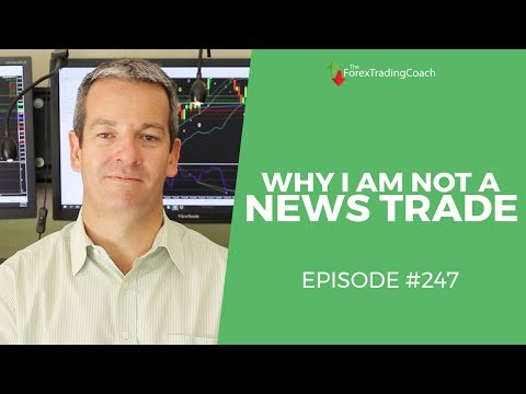 Why I Don't Trade The News with Forex Coach Andrew Mitchem