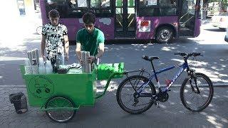 Coffee on Wheels in Yerevan