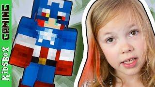 SUPERHEROES! - Minecraft Mod Showcase ❑ Minecraft PE