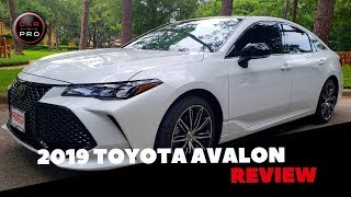 All-New 2019 Toyota Avalon Cuts A Shapely Shadow On The Road