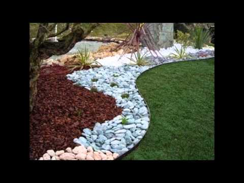 Giardino con ciottoli doovi for Ciottoli da giardino