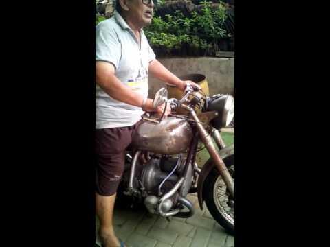 Douglas motor classic antik