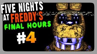 Five Nights at Freddys: Final Hours Прохождение #4 ✅ НОЧИ 5 + EXTRA