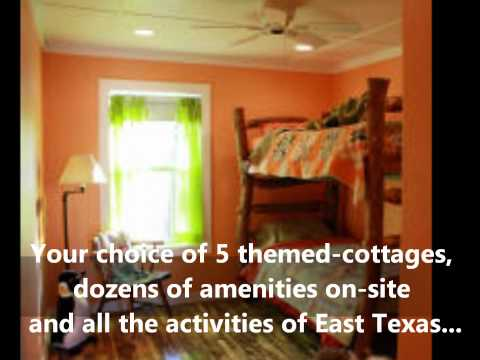 Things to do in East Texas -from Trinity Pines Vacation Cottages, Edom Texas